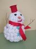 Веселый снеговичок