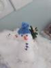 Белоснежненький дружок-мой снеговичок!
