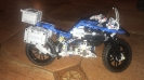 Модель-конструктор: транспорт; мотоцикл
