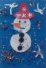Весеселый снеговик.