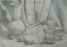 Натюрморт с гипсовой вазой