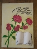 букет роз в технике пластилинографии и бумагопластике