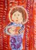 Рождество. Дева Мария и младенец Иисус