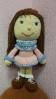 Кукла Маша, вязание крючком
