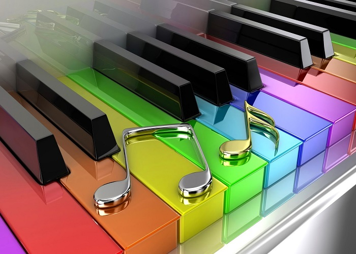 colorful piano backgrounds colorful piano 1920 x 1200 wallpaper