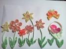 Пасхальная корзиночка в цветах