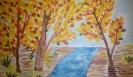 Краски осени, рисунок