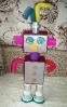 Модель: Робот из различных  материалов